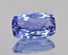 AAA 2.53 CTS Top color Gorgeous Tanzanite Facetted Gem