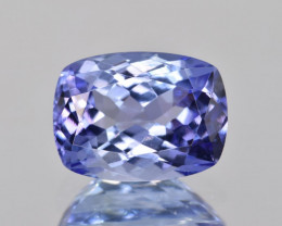 AAA 4.19 CTS Natural Top color Tanzanite  Facetted Gem