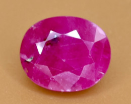 3.02 Crt Ruby Faceted Gemstone (Rk-66)