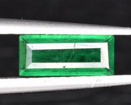 A Stunning Beautiful Ethiopian Emerald 0.44 CTS