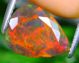 2.18cts Natural Ethiopian Faceted Smoked Opal / MA374