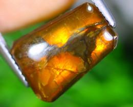4.01cts Natural Rainbow Colour Canadian Ammolite / MA378