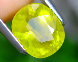 3.24cts Natural Heated Yellow Colour Sapphire / MA380