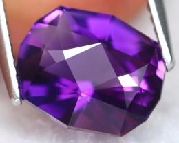 Uruguay Amethyst 2.81Ct VVS Master Cut Natural Violet Amethyst C2109