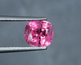 2.20 Cts  Cushion Hot Pink Mahenge Spinel From Tanzania