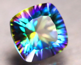 Mystic Topaz 7.53Ct Natural IF Mystic Rainbow Topaz E2410/A46
