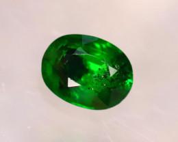 Tsavorite 0.83Ct Natural Intense Vivid Green Color Tsavorite Garnet E2419