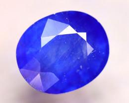Ceylon Sapphire 9.06Ct Royal Blue Sapphire E2429/A23