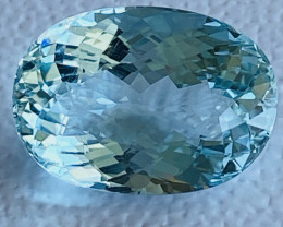 GIL Certified 10.17 Carats Aquamarine Gemstone
