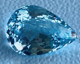 GIL Certified 8.82 Carats Aquamarine Gemstone