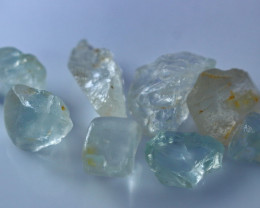 103 CT Natural - Unheated Blue Topaz Rough Lot