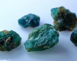 54.80 CT Natural - Unheated Green Grandidirite rough Lot