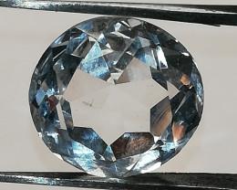 Rock quartz, 7.352ct from Austria, loup clean, top cut!!