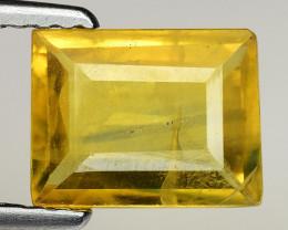 1.45 Ct Yellow Sapphire Top Quality  Gemstone. YS 2