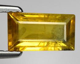 1.19 Ct Yellow Sapphire Top Quality  Gemstone. YS 7