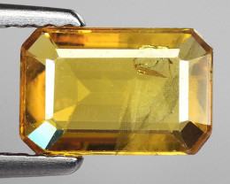 1.10 Ct Yellow Sapphire Top Quality  Gemstone. YS 8