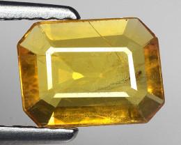 1.04 Ct Yellow Sapphire Top Quality  Gemstone. YS 9