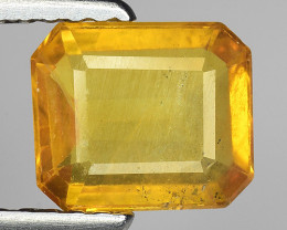 1.38 Ct Yellow Sapphire Top Quality  Gemstone. YS 12