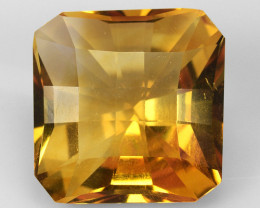 4.63 Ct Natural Citrin Top Quality Gemstone. CT 5