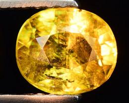 1.02 Ct Natural Sphene Color Change Sparkiling Luster Gemstone SP6