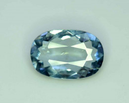 3 Carats Oval Cut Natural Top Grade Color Aquamarine Gemstone from pak