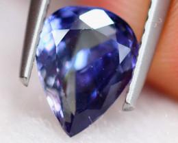 1.42Ct Natural Violet Blue Tanzanite Pear Cut Lot LZ6734