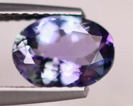 1.50Ct Natural Greenish Violet Blue Tanzanite Oval Cut Lot LZ6738