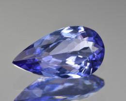 Natural Tanzanite 2.11 Cts Top Grade  Faceted Gemstone