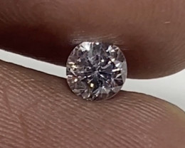 (G) Certified Nat $973  Fiery 0.45 cts VS2  White Loose Diamond Round