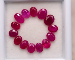 3.40Ct Natural Burmese Ruby Oval Cut Lot D360
