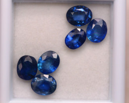 4.66ct Natural Blue Sapphire Oval Cut Lot D369