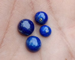 Lapis Lazuli 4Pcs Parcel Natural+Untreated Gemstone VA2134