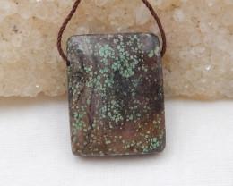 29.5cts Turquoise Pendant ,Natural Gemstone ,Turquoise Pendant G960