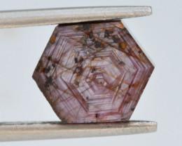 5.95 CT Hexagon Ruby Polished@ Tanzania