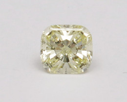 0.65ct Natural Fancy Light Yellow Diamond GIA certified  SI1
