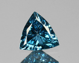 0.10 Cts Natural Diamond Flashing Blue Diamond Fancy 3mm Africa