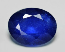 2.87 Cts Amazing Rare Natural Fancy Blue Ceylon Sapphire Loose Gemstone