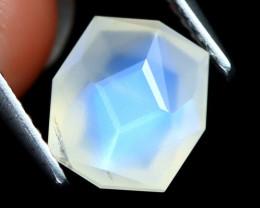Blue Moonstone 2.13Ct Master Cut Natural Ceylon Blue Moonstone A2206