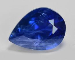 0.51 Cts Amazing Rare Natural Fancy Blue Ceylon Sapphire Loose Gemstone