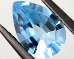 2CTS SWISS BLUE TOPAZ FACETED  IRRADIATED   ADG-734