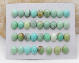 Lucky Turquoise ,Handmade Gemstone ,Turquoise Cabochons ,Lucky Stone G973