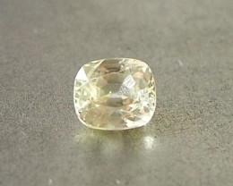 1.03ct unheated yellow sapphire