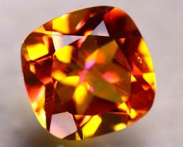 Topaz 2.74Ct Natural IF Vivid Orange Topaz DR234/A46