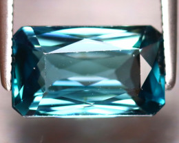 Blue Zircon 3.93Ct Natural Cambodian Blue Zircon DR345/A31