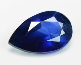 0.37 Cts Amazing Rare Natural Fancy Blue Ceylon Sapphire Loose Gemstone