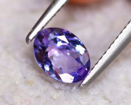 Tanzanite 1.18Ct Natural VVS Purplish Blue Tanzanite DR244/D3
