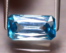Blue Zircon 4.33Ct Natural Cambodian Blue Zircon DR346/A31