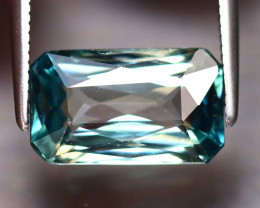 Blue Zircon 4.75Ct Natural Cambodian Blue Zircon DR347/A31