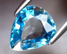 Blue Zircon 2.88Ct Natural Cambodian Blue Zircon DR348/A31