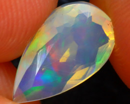 Welo Opal 1.47Ct Natural Ethiopian Play of Color Opal DR259/A28